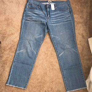 J Crew Slim Broken In Boyfriend Blue Jeans